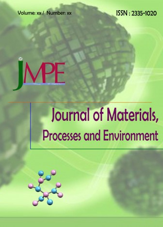 Journal of Materials, Processes and Environment